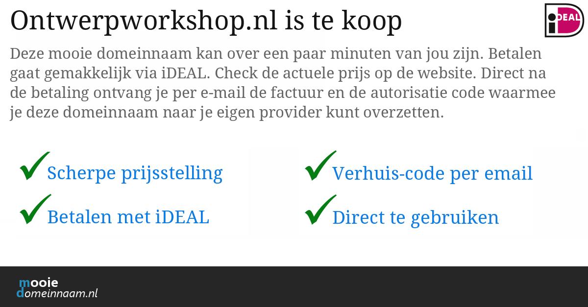 (c) Ontwerpworkshop.nl